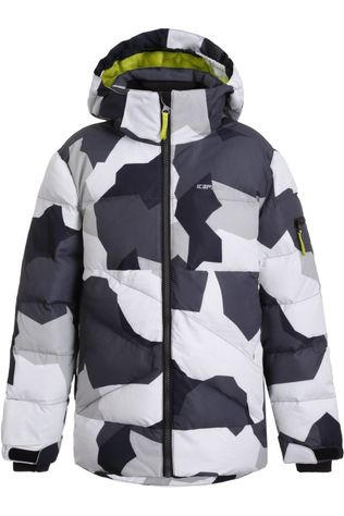 Icepeak Manteau Larned Jr Noir/Blanc