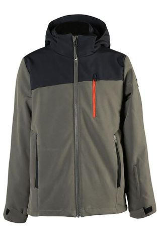 Brunotti Softshell Barry-Jr Boys Noir/Kaki Moyen