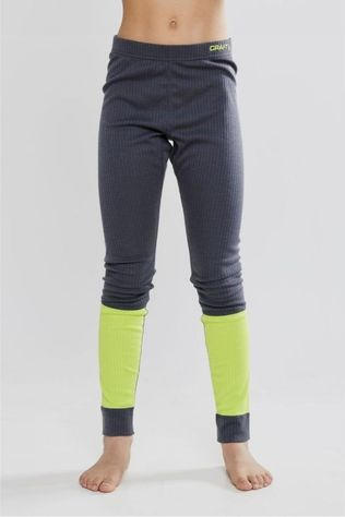 Craft Underwear Baselayer Set dark grey/Lime
