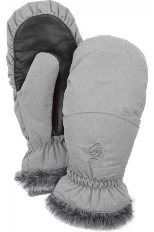 Hestra Moufle Hes Women'S Primaloft Winter Forest Mitt Gris Clair Mélange