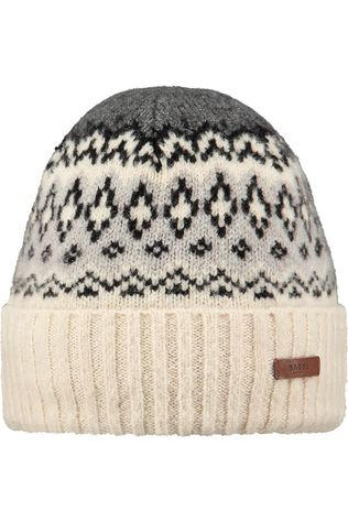 Barts Bonnet Barts Gregoris Beanie vanille/light grey