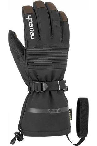 Reusch Glove Isidro Gore-Tex black/brown
