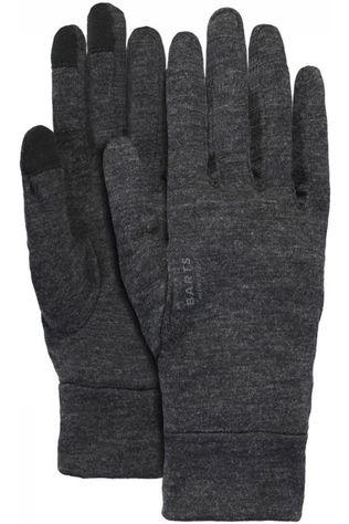 Barts Liner Merino Touch Glove Donkergrijs Mengeling