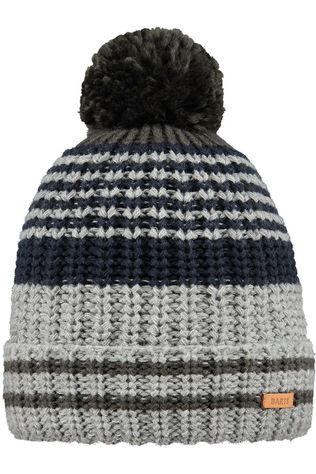 Barts Bonnet Barts Edin Beanie light grey/dark grey
