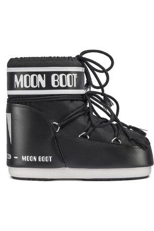 Moon Boot Moonboot Classic Low Zwart