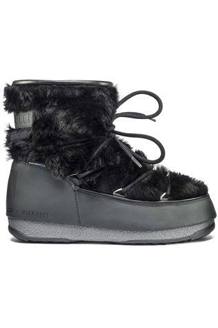 Moon Boot Après-Ski Laars Monaco Low Fur WP2 Zwart