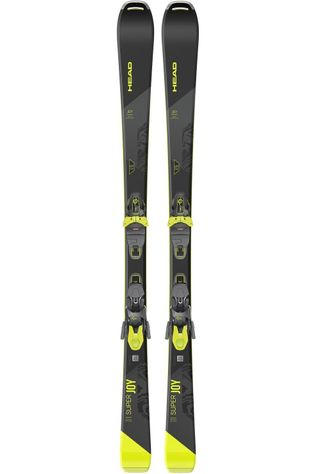 Head Ski Super Joy + Joy 11 Gw Zwart/Geel