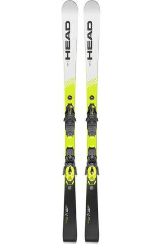 Head Ski Wc Rebels I.Gsr + Pr 11 Brake 78 Wit/Geel