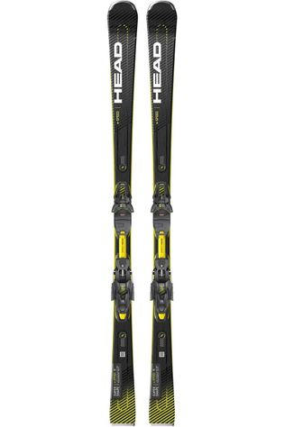 Head Ski Supershape E.Speed - Prd 12 Gw Zwart/Donkergeel