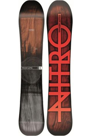 Nitro Snowboard Woodcarver mid brown/mid grey