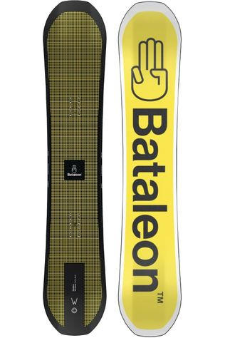 Bataleon Snowboard Bata Whatever black/yellow