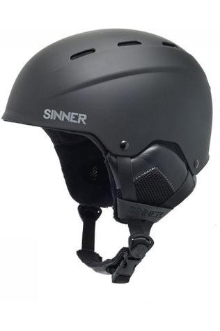 Sinner Skihelm Typhoon Zwart