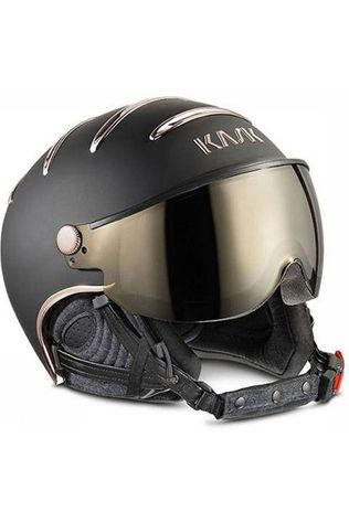 Kask Casque de Ski Chrome Noir/Or