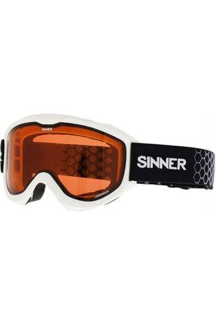Sinner Skibril Lakeridge Wit/Oranje