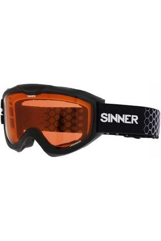 Sinner Ski Goggles Lakeridge black/orange