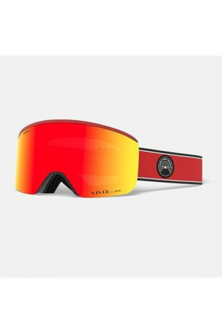 Giro Skibril Axis With Spare Lens Rood