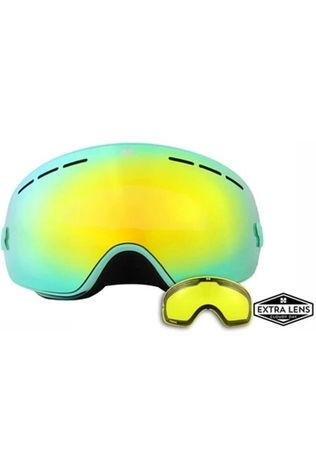 Aphex Ski Goggles Krypton white/gold