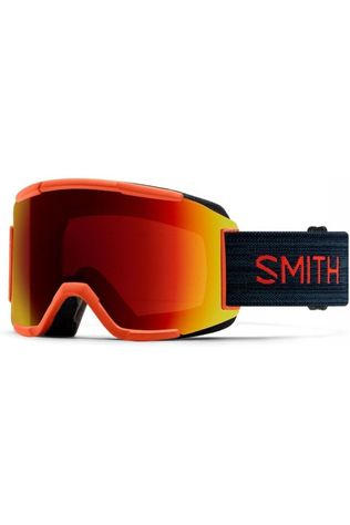 Smith Ski Goggles Squad Extra Lens mid blue/red