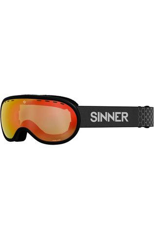 Sinner Ski Goggles Vorlage black/red