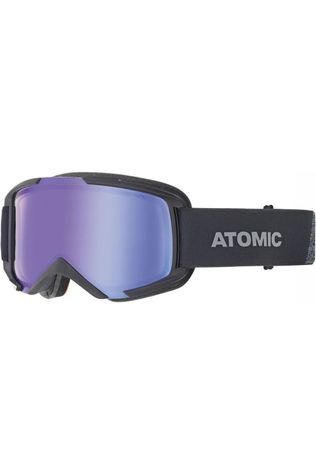 Atomic Skibril Savor M Photo Otg Zwart/Blauw