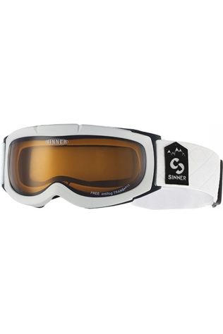 Sinner Ski Goggles Free white/orange