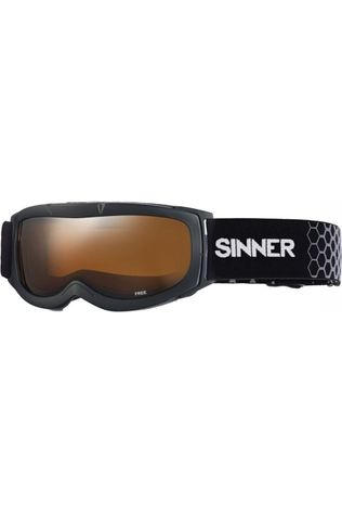 Sinner Ski Goggles Free black/orange