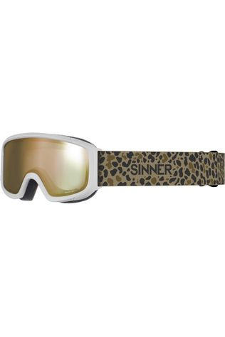 Sinner Lunettes De Ski Duck Mountain Blanc/Assorti / Mixte
