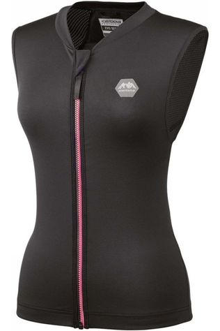 Ice Tools Protection Lite Vest Lady Noir/Rouge Moyen