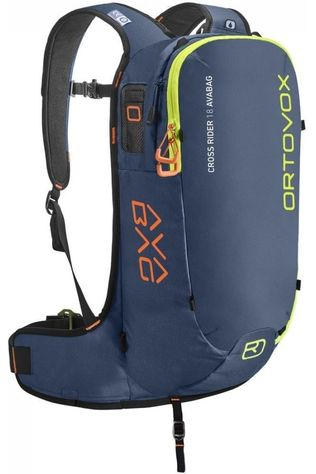 Ortovox Snow Safety Cross Rider 18 Avabag Navy Blue/Lime Green