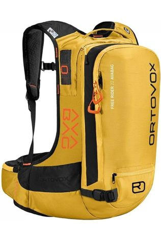 Ortovox Snow Safety Free Rider 22 Avabag Airbag yellow