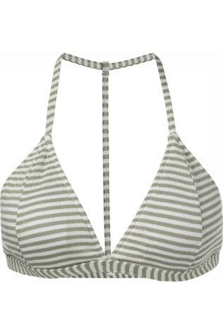 Yaya Bh Striped With Racer Back Gebroken Wit/Middenkaki