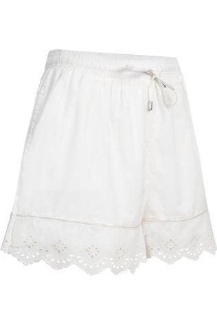 Superdry Lace Broderie Short white