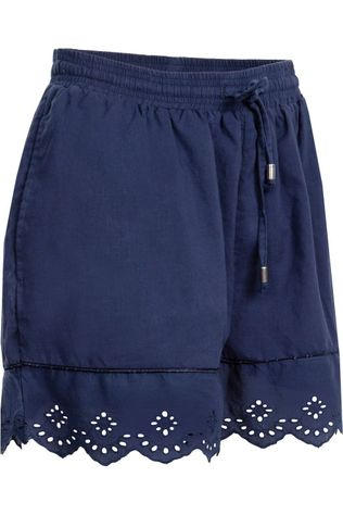 Superdry Lace Broderie Short Marine
