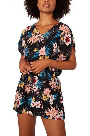 Protest Dress Slade black/Assortment Flower
