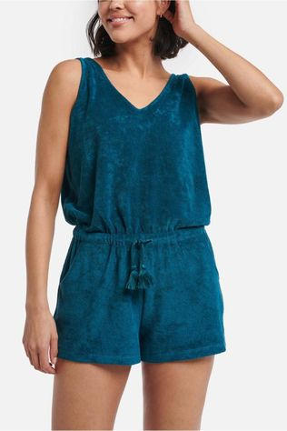 Shiwi Jumpsuit Ladies Terry Jumpsuit Donkergroen