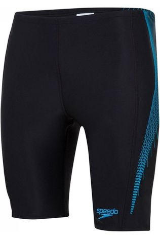 Speedo Slip E10 Placement Pannel Jammer Noir/Bleu Moyen