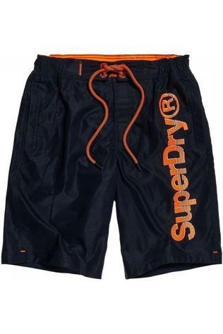 Superdry Boardshort Superdry Classic Marineblauw