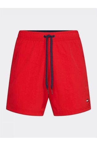 Tommy Hilfiger Short De Bain Sf Medium Drawstring Rouge