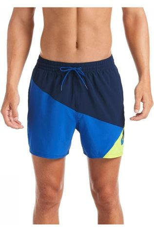 "Nike Short De Bain 5""Volley Short marine/Jaune"