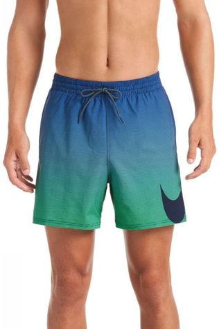 "Nike Short De Bain 5""Volley Short Marine/Vert"