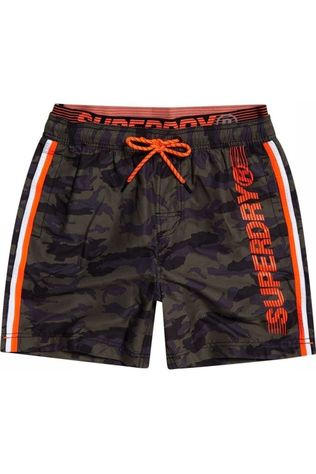 Superdry Short De Bain State Volley Ass. Camouflage
