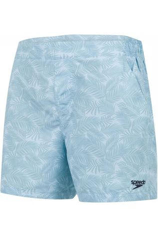 Speedo Short De Bain Vintage Leisure 14 Bleu Clair