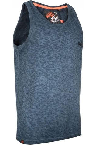 Superdry Top Low Roller Bleu Marin