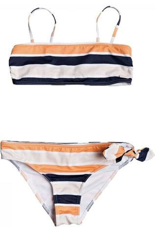 Roxy Bikini Made For Roxy Band Set Bleu Foncé/Rose Saumon