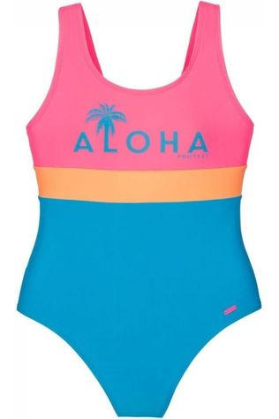 Protest Bathing Suit Alise Jr Turquoise/Mid Pink