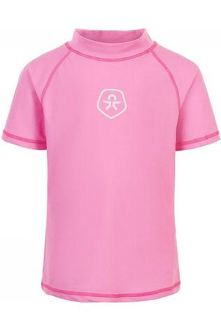 Color Kids Lycra Timon Ss Upf Rose Clair