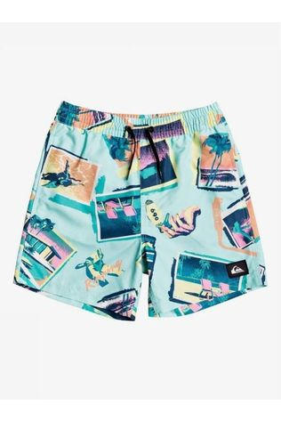 Quiksilver Swim Shorts Vacancy Volley Youth 14 Lime/Assortment