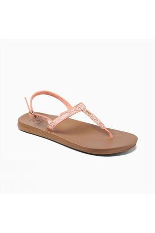 Reef Sandal Cushion Bounce Slim T light pink/brown