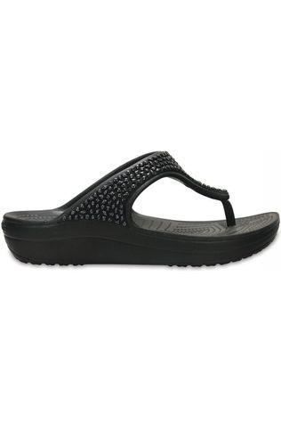 Crocs Tongs Sloane Emellished Flip Noir/Exceptions