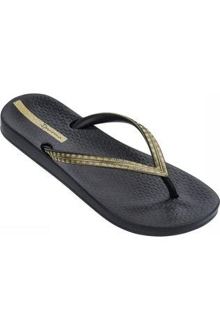 Ipanema Slipper Anatomic Mesh Zwart/Goud